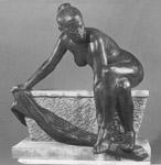 Eric Gill ARA, British 1882-1940- Study of the female nude